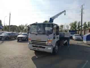 JAC N120. Кму Tadano ZF304 на новом аналог Камаз 4308, 3 800куб. см., 7 000кг., 4x2