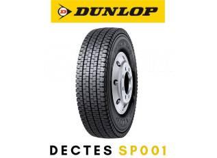 Dunlop Dectes SP001. Зимние, без шипов, 2017 год, без износа, 1 шт