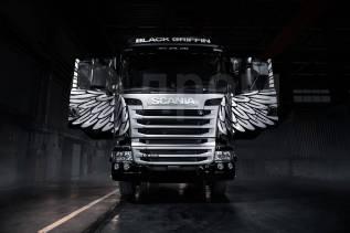 Scania. R400 Black Griffin, 13 000куб. см., 20 000кг.
