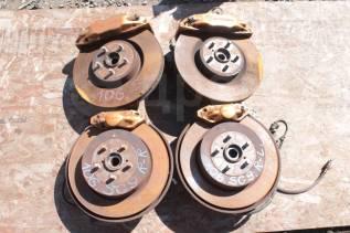 Суппорт тормозной. Subaru Impreza WRX, GDB Subaru Forester, SG9, SG9L Двигатели: EJ20, EJ205, EJ255, EJ201, EJ202, EJ203, EJ204, EJ20A, EJ20E, EJ20G...