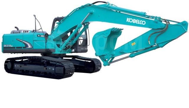 Kobelco SK210LC. Экскаватор гусеничный -8 (Япония), 1,00куб. м.