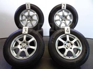 """Комплект колёс 215/70 R16 из Японии. 6.5x16"""" 5x114.30 ET38 ЦО 73,0мм."""
