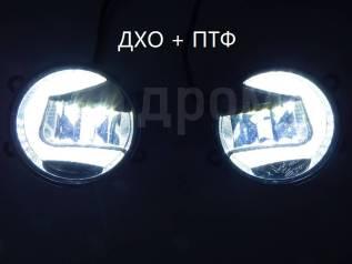 Фара противотуманная. Toyota: Yaris, Auris, Vitz, Avensis, RAV4, Camry, Corolla, Land Cruiser Prado, Highlander Lexus RX270 Lexus LX570