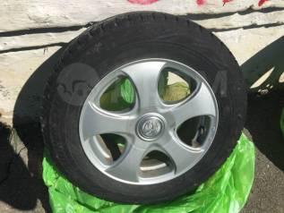 "Продам шины зима Bridgestone на дисках 195/65/15. x15"" 5x100.00, 5x114.30"