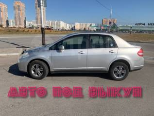 Nissan Tiida Latio. Без водителя
