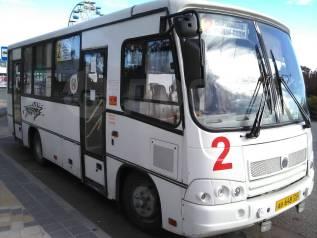ПАЗ. Автобус , С маршрутом, работой