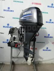 Yamaha. 25,00л.с., 4-тактный, бензиновый, нога L (508 мм), 2006 год год
