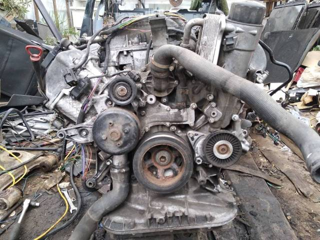Двигатель в сборе. Mercedes-Benz CLK-Class Mercedes-Benz E-Class, W210 Mercedes-Benz C-Class, W202 Двигатели: M112E26, M112E24, M112E32MLAMG