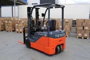 Toyota. Новый электрический вилочный погрузчик, Электрический. Под заказ