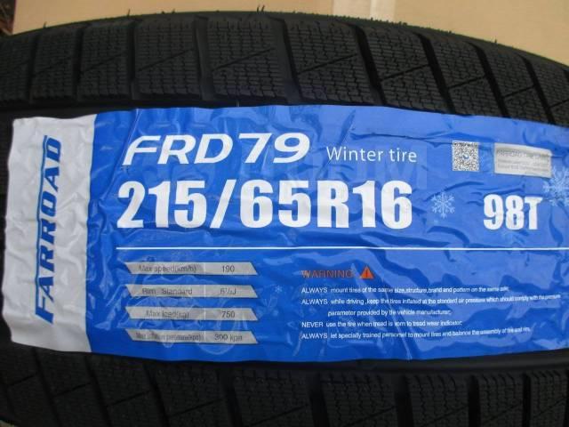 Farroad FRD79. Зимние, без шипов, 2018 год, без износа, 4 шт
