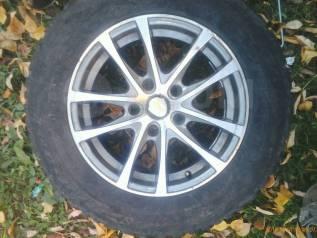 "Продам колёса,4шт. на литых дисках. 6.5x15"" 5x114.30 ЦО 66,1мм."