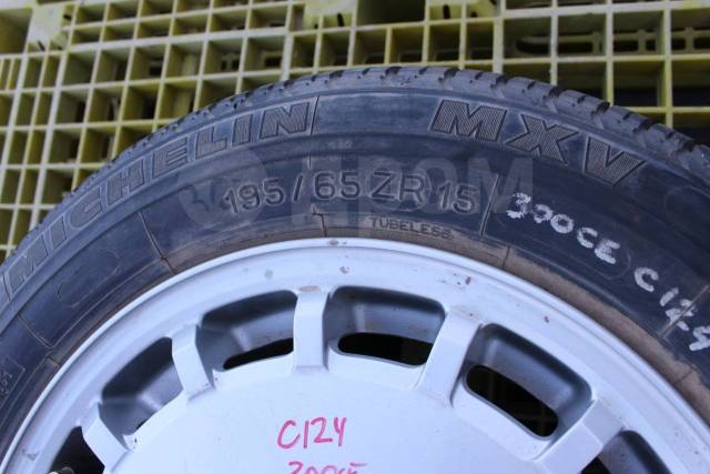 """Запаска на Mercedes E-Class W124 C124 S124. 6.5x15"""" 5x112.00 ET48"""
