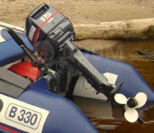 Yamaha. 15,00л.с., 2-тактный, бензиновый, нога S (381 мм), 2014 год год