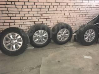 """Продам шины и диски для Toyota LC. 8.0x17"""" 5x150.10 ET60"""