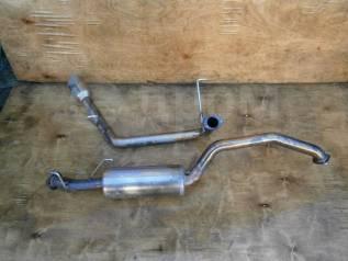 Выхлопная система. Mitsubishi Pajero, V65W Двигатель 6G74