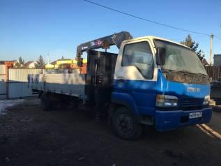 Isuzu NRR. Продам грузовик-воровайку. 5000кг. Стрела 3 тонны., 5 000кг., 4x2