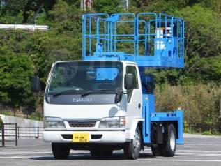 Isuzu Elf. автовышка с платформой, 4 770куб. см., 10,00м. Под заказ
