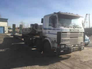 Scania. Продам тягач с тралом, 14 000куб. см., 90 000кг., 8x4