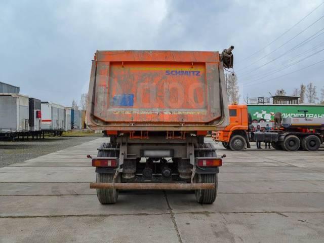 Schmitz S.KI. Самосвальный полуприцеп Schmitz SKI 24 SL 2013 г/в, 25 400кг.