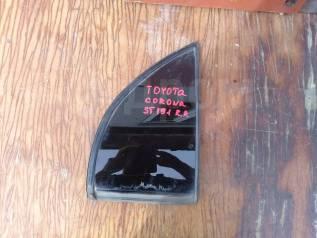 Форточка двери. Toyota Corona, ST191 Двигатель 3SFE