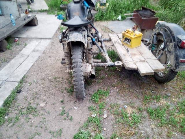Урал. 125куб. см., исправен, без птс, с пробегом