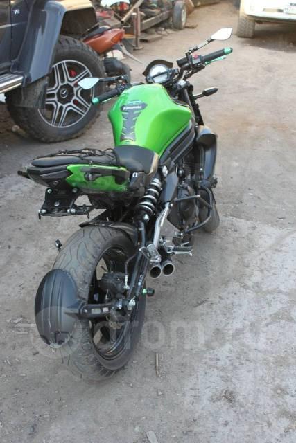 Kawasaki ER-6n. 650куб. см., исправен, птс, с пробегом