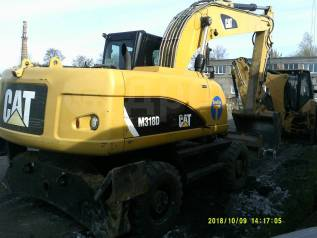 Caterpillar M318D. Продаётся колёсный экскаватор Cat (Caterpillar) M318D, 1,03куб. м.