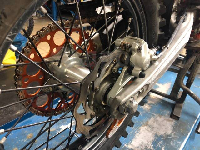 KTM 350 EXC-F. 350куб. см., исправен, без птс, с пробегом