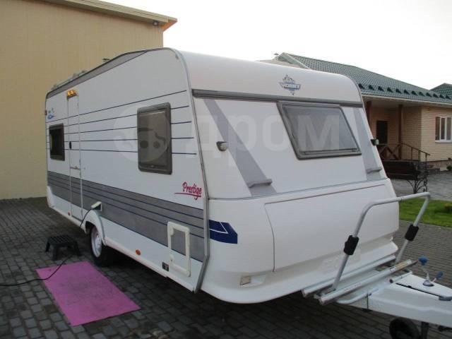Hobby. Дом на колёсах 2001 года с французской кроватью