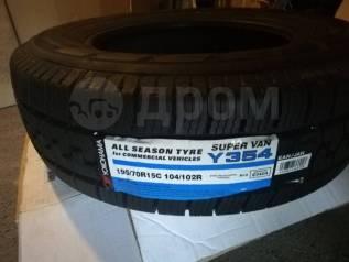 Yokohama Super Van Y354. Всесезонные, без износа, 2 шт