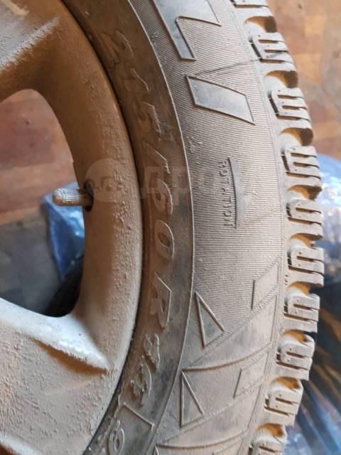 Pirelli Carrier Winter. Зимние, без шипов, 2016 год, без износа, 4 шт
