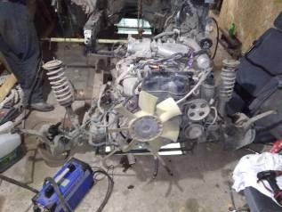 Двигатель в сборе. Toyota Crown, JZS153