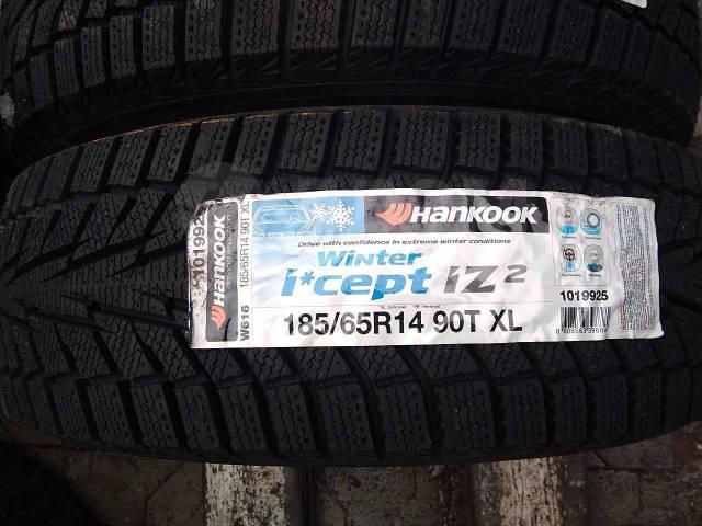 Hankook Winter i*cept IZ2 W616. Зимние, без шипов, 2017 год, без износа, 4 шт