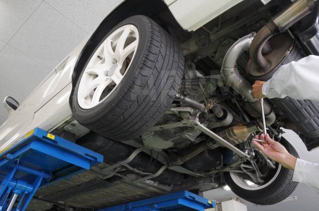 Ремонт ходовой части, ремонт рулевых реек
