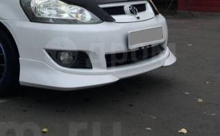 Клык бампера. Toyota Ipsum