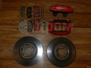 Рабочая тормозная система. Nissan Skyline, ECR33, ER33 Nissan Silvia Двигатели: RB25DE, RB25DET