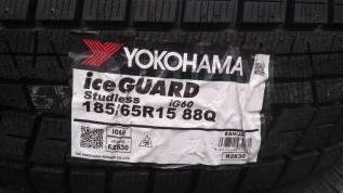 Yokohama Ice Guard IG60. Зимние, без шипов, 2018 год, без износа, 4 шт
