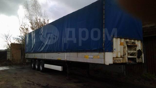 Krone SD. Полуприцеп бортовой тентованный фургон , 27 000кг.