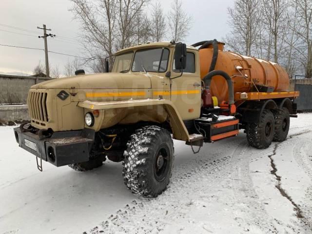 Урал 4320. Урал-4320, 12 800куб. см., 10 000кг., 6x6