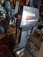 Yamaha. 30,00л.с., 2-тактный, бензиновый, нога L (508 мм), 1998 год год
