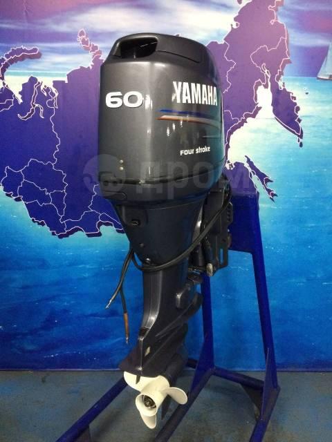 Yamaha. 60,00л.с., 4-тактный, бензиновый, нога L (508 мм), 2007 год год