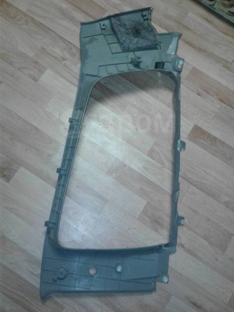 Обшивка багажника. Mitsubishi Pajero Sport