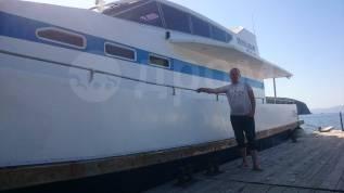 Аренда катера, морские прогулки рыбалка отдых на островах Владивосток. 30 человек, 30км/ч