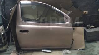 Дверь боковая. Toyota Vitz, NCP10