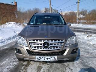 Mercedes-Benz M-Class. С водителем
