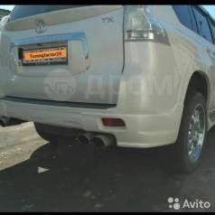 Клык бампера. Toyota Land Cruiser Prado, GDJ150, GDJ150L, GDJ150W, GRJ150, GRJ150L, GRJ150W, KDJ150, KDJ150L, LJ150, TRJ150, TRJ150L, TRJ150W