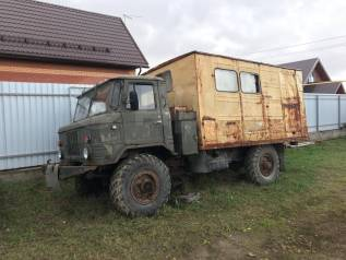 ГАЗ 66. ГАЗ-66 Вахтовка, 4 254куб. см., 2 000кг., 4x4