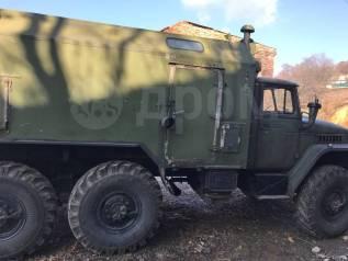 Урал 4320. Автомобиль Урал 375 фургон, 10 850куб. см., 5 000кг., 6x6