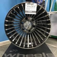 """Sakura Wheels. 10.0x15"""", 6x139.70, ET-45, ЦО 110,5мм."""
