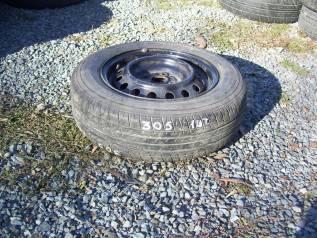"""Одно колесо, летняя шина 175/70 R-14 с диском 4х100. 5.5x14"""" 4x100.00 ЦО 50,0мм."""